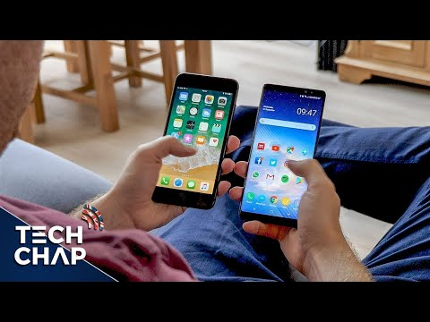 iPhone 8 Plus vs Galaxy Note 8 - Which Should You Buy? | The Tech Chap