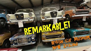 Remarkable! British Car Museum, Hawkes Bay, New Zealand