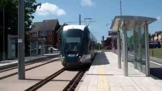 Nottingham Trams - Testing Times - Bramcote Lane