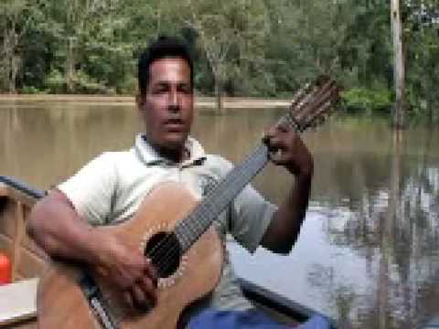 Milton Mezas in the Amazon Rainforest