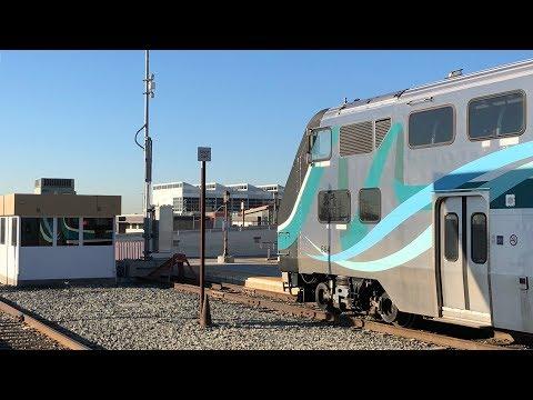 HD60- Riding Metrolink Train 224 from Santa Clarita to Los Angeles | Rotem Cabcar #647