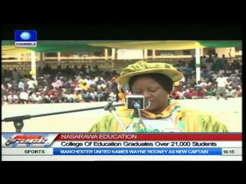 Nasarawa College Of Education Graduates Over 21,000 Students