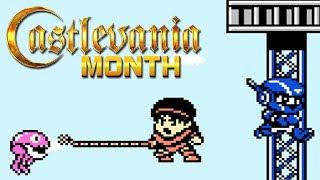 Konami Wai Wai World 2 (FC) - CastleMaynia [Castlevania Month 2019]