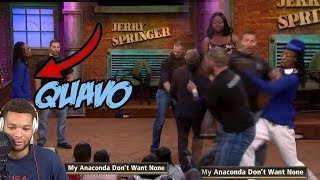 QUAVO FROM MIGOS FIGHTING ON JERRY SPRINGER!!!! WHY NOBODY ELSE KNOW ABOUT THIS ??
