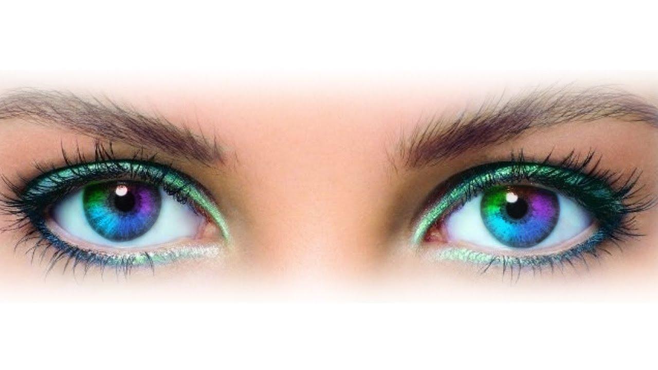 Как сделать разноцветные глаза? Помогите пожалуйста! - Tiarum