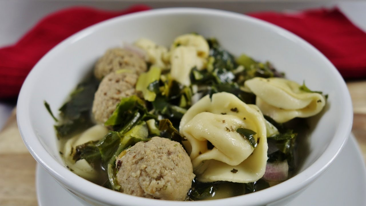 Crock Pot Slow Cooker Italian Wedding Soup W Three Cheese Tortellini