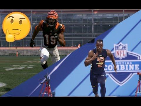 How Fast is a 99 Speed Player's 40 Yard Dash in Madden?