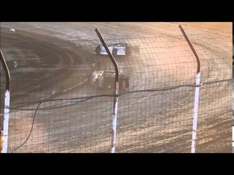 Lucas Oil Late Model Dirt Series Heat #1 from Portsmouth Raceway Park 7/4/14.