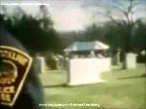 November 21, 1969 -The Funeral of Joseph P. Kennedy Sr. at Holyhood Cemetery, Brookline, Mass