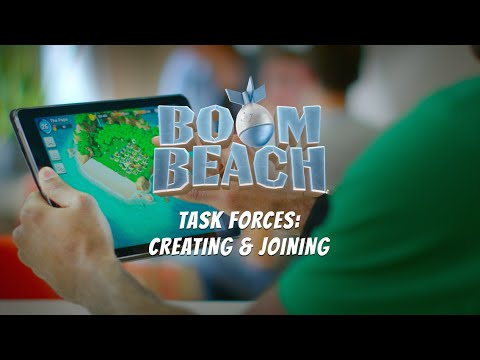 Boom Beach: Creating & Joining a Task Force