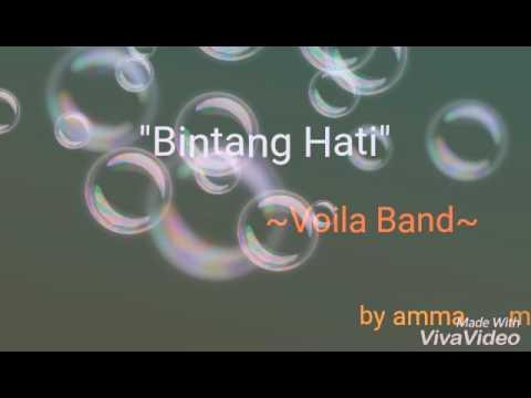 Lirik lagu Bintang Hati ~Voila Band~