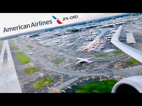 FLIGHT REPORT: American Airlines Boeing 737-800 First Class (Older Config) | JFK-ORD