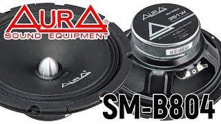Обзор динамиков Aura SOUND EQUIPMENT SM-B804. Слушаем с твитером