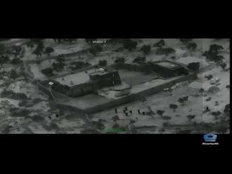 Տեսանյութ.  ԱՄՆ զինվորականների գրոհը ահաբեկչական կազմակերպության առաջնորդի տան վրա