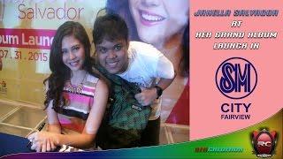 Janella Salvador Grand Album Launch sa SM City Fairview