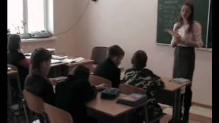 Фрагмент урока английского языка в СШ №72 г  Гомеля проводят студенты группы АИ 25