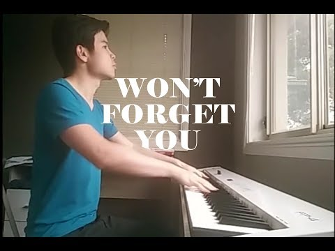Pixie Lott Won't Forget You - Eugene Goh Piano Cover