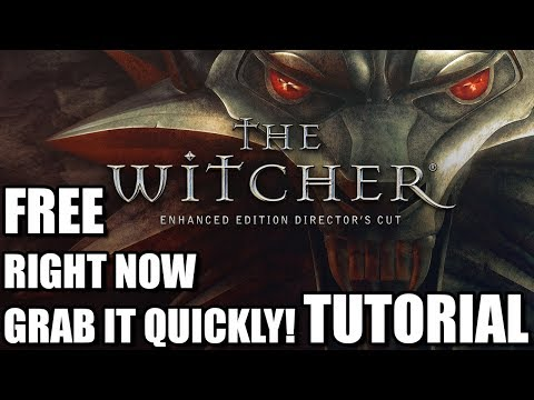 The Witcher 1 is free right now! Grab it quickly! [Tutorial]