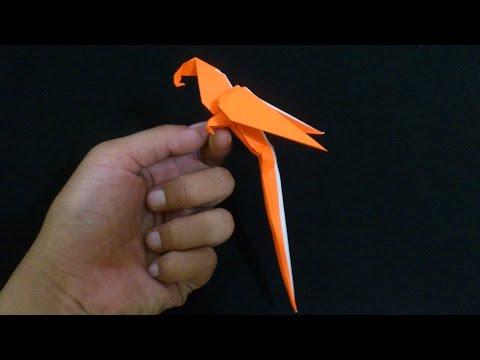 ORIGAMI, Cara Membuat Pesawat Jet Tempur Dari Kertas.