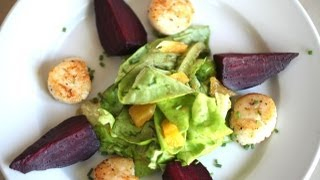 Beth's Seared Scallop And Beet Salad