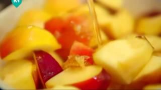 Гренки с корицей и яблоками. Рецепты счастья.