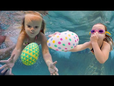 UNDERWATER DIVING EASTER EGG SPECIAL! 💦