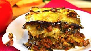 Сочная вкусная ЛАЗАНЬЯ из БАКЛАЖАНОВ с мацареллой Lasagna Recipe Готовить просто с Люсьеной