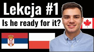 Learn Polish through Serbian. Polish Lesson #1. Are you ready?