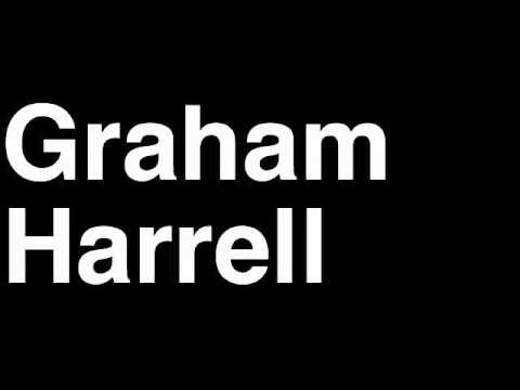 How to Pronounce Graham Harrell QB Green Bay Packers NFL Football Touchdown TD Tackle Hit Yard Run