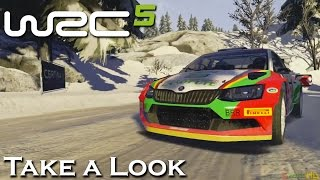 WRC 5 - X360 PS3 Gameplay (XBOX 360 720P) Take a Look