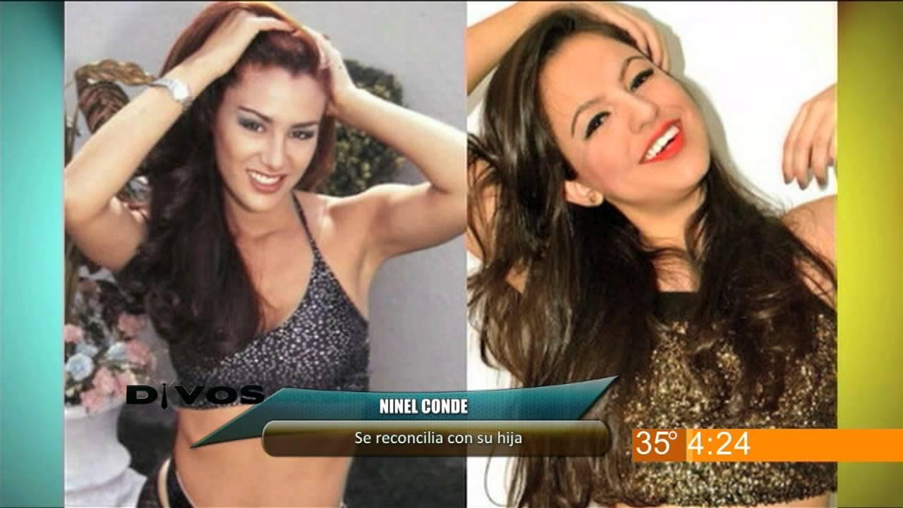 Divos - Ninel Conde se reconcilia con su hija - YouTube  Hija