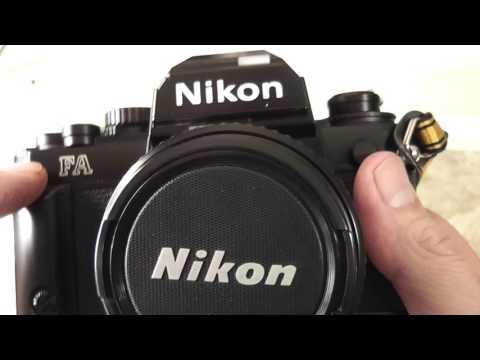 Nikon FA 35mm Film Camera Overview/Review