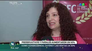 LOS PRESERVATIVOS Y LOS PAÑALES AUMENTARON UN 50%