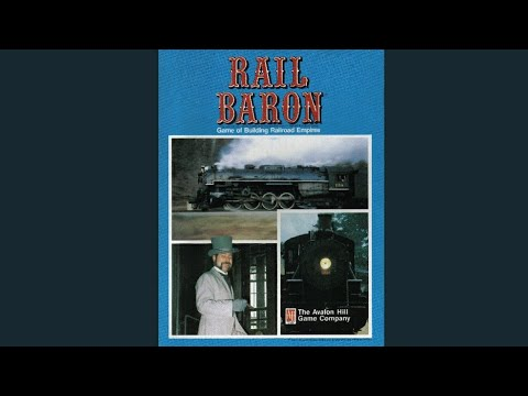 Ep. 77 Rail Baron Board Game Review (Avalon Hill 1977)