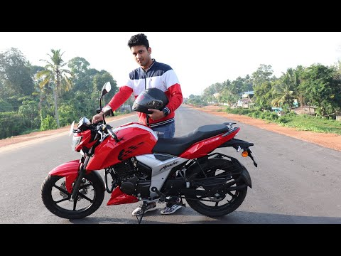 TVS Apache RTR 160 4V Review!! (Design, ride quality day and night,ride comfort,etc)