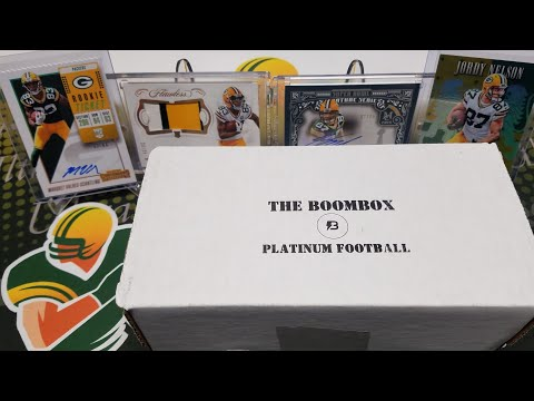 May 2019 Boombox Platinum Football Unboxing