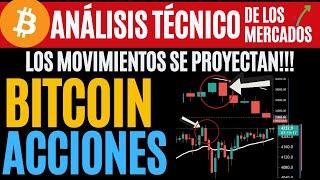 BITCOIN CUANTO MAS PUEDE CAER? * ACCIONES  TECNOLOGICAS FUERTES!! ANÁLISIS 6/7/21