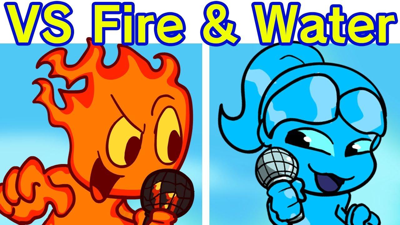 Friday Night Funkin' - VS Fireboy and Watergirl FULL WEEK (FNF Mod/Hard)