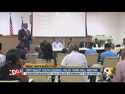 Cincinnati NAACP Youth Council holds town hall meeting