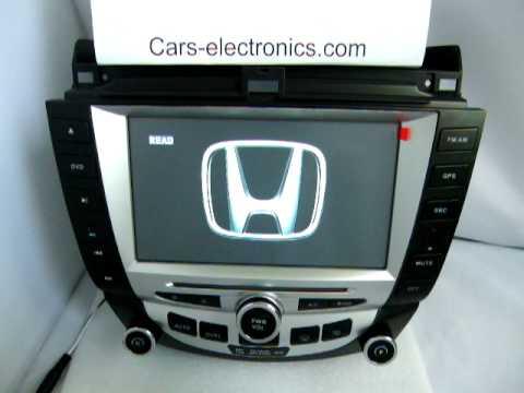Honda Accord Dvd Gps Navigation
