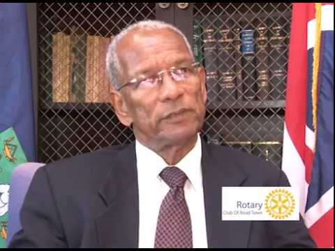 BVI Premier & Education Minister Talk About Rotary Club Of Road Town