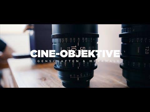 Was sind CINE-OBJEKTIVE? - Eigenschaften & Merkmale  SIGMA High Speed Cine Zooms