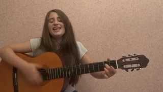 Песни военных лет -Катюша (кавер на гитаре)!