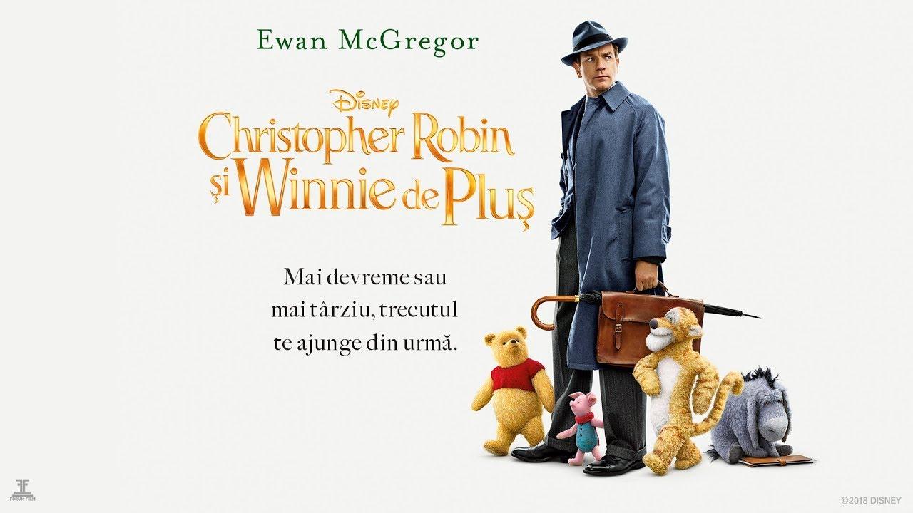 Christopher Robin și Winnie De Pluș Christopher Robin Trl C