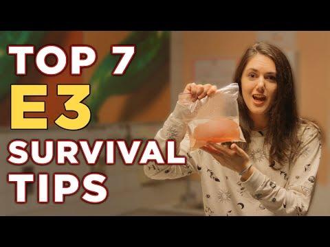 Simone's Top 7 E3 Survival Tips — Polygon @ E3 2017