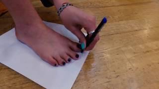 Как измерить ногу и определить размер для танцевальной обуви.
