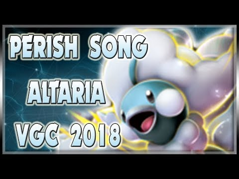 PERISH SONG MEGA ALTARIA! | VGC 2018 | Pokemon Sun & Moon LIVE  Wifi Battle Spot Doubles #06