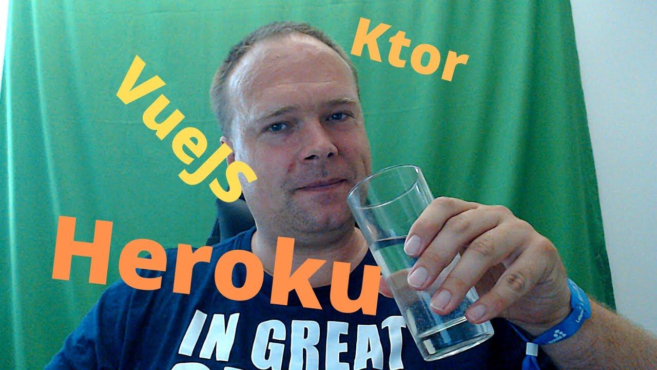 Ktor VueJS Heroku Docker Multistage Build