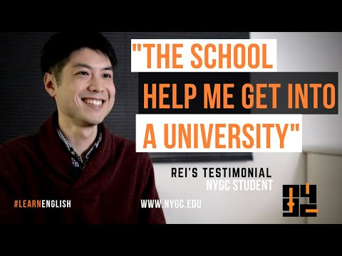 Why Learn English In New York | Student's TESTIMONIAL | English School In New York | NYGC