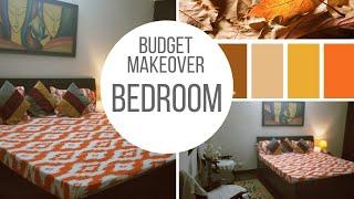 Small Budget big Makeover Bedroom Makeover |Rental Budget Makeover | Renter friendly
